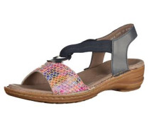 Sandalen dunkelblau / mischfarben