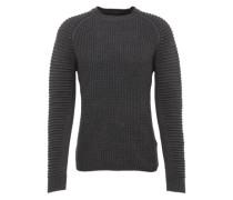 Pullover 'Suzaki r knit l/s' dunkelgrau