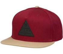 X Cap beige / rot