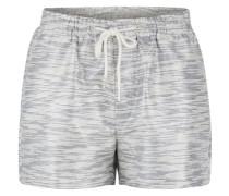Glitzer Shorts silber