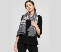XL-Schal mit Allover-Print