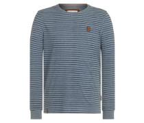 Sweatshirt 'Kommt Ein Dünnschiss Iii' taubenblau