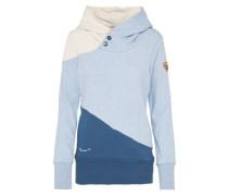 Sweatshirt 'chelsea Block' blau / grau