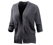 Strickjacke Damen grau