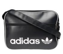 Sporttasche 'Airliner' schwarz / weiß