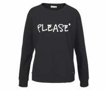 Jeans Sweater schwarz