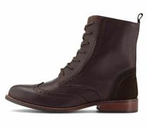 Schnür-Stiefeletten Schnür-Boots