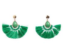 Detailreiche Ohrringe grün