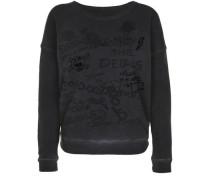 Sweatshirt 'crew Sweat Artwork Mix' schwarz