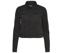 Jeansjacke Niet- schwarzmeliert