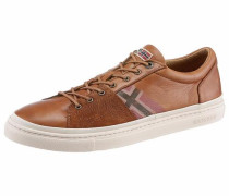 Sneaker 'King' cognac