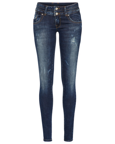 'julita X' Regular Jeans dunkelblau