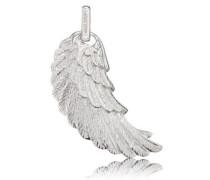 Anhänger ohne Kette 'Flügel Erw' silber