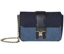 Tasche 'TH Heritage Mini Crossover Denim Mix' blau