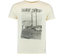 T-shirt 'LM The 50's' creme