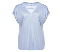 V-Shirt 'Sandi' hellblau