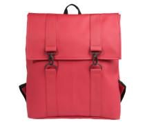 Wasserfester Rucksack rot