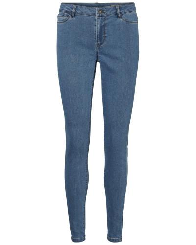 Skinny-fit-Jeans 'jenna' blue denim