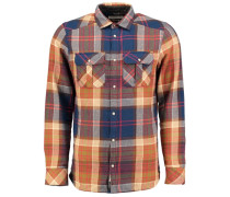 Flannel Shirt 'violator' braun