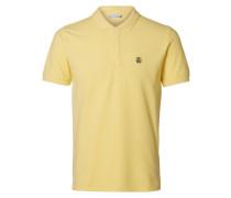 Poloshirt Klassisches gelb