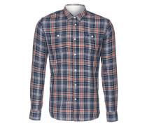 Hemd 'Ironshell' blau