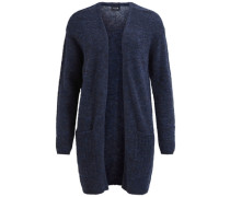 Strickjacke Strick blau
