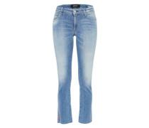 Mid waist Jeans 'dominiqli' blue denim