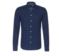 Hemd 'Pelham' blau