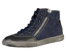 Sneaker blau / silbergrau / weiß