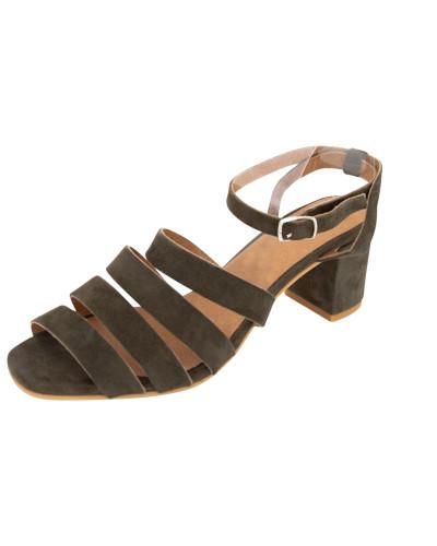 Sandale 'Paulette' khaki