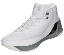 Curry 3 Basketballschuh Herren weiß