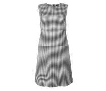 Hahnentritt-Kleid in A-Linie