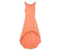 Kleid vorne kurz hinten länger koralle