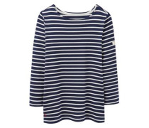 Sweatshirt 'harbour' navy / weiß