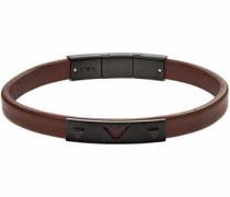 Armband 'egs2413001' braun / schwarz