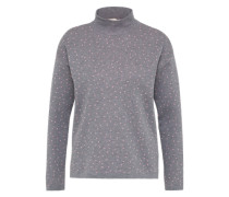 Pullover 'riley Splashes' graumeliert / rosa