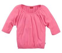 ¾ Arm Shirt für Mädchen pink