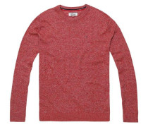 Pullover 'thdm Basic CN Sweater 11' rot