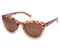 Sonnenbrille beige / braun