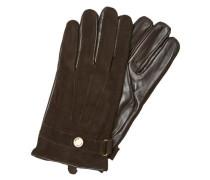 Leder-Handschuhe braun