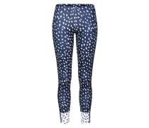 Skinny Leggings '3 Stripes' dunkelblau / weiß