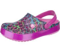 'Crocband Animal II' Clogs pink