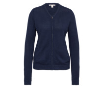Strickjacke 'FLOWcardi' navy