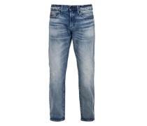 Tubx Straight: Jeans im Used-Look