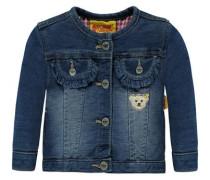 'Jacke' in Jeans-Optik blau / blue denim