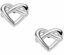 Paar Ohrstecker »Herz Sterling Silver Jfs00414040« silber