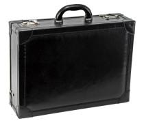 Story Uomo Aktenkoffer Leder 45 cm schwarz