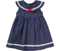 Baby Kleid dunkelblau / grau / rot