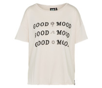 T-Shirt 'good Mood' nude
