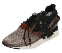 Sneaker 'Denastar' schwarz / weiß / braun